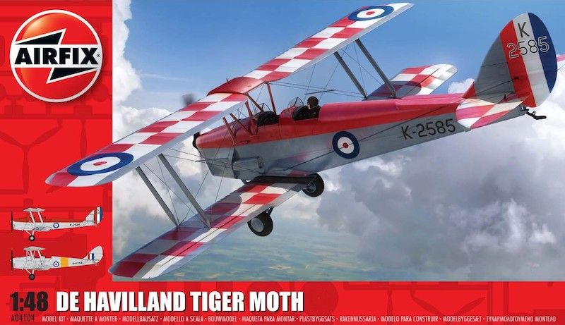 Airfix 1/48 de Havilland DH.82a Tiger Moth *New Tooling* # A04104
