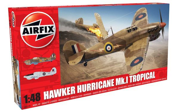 Airfix 1/48 Hawker Hurricane Mk.I Tropical # A05129