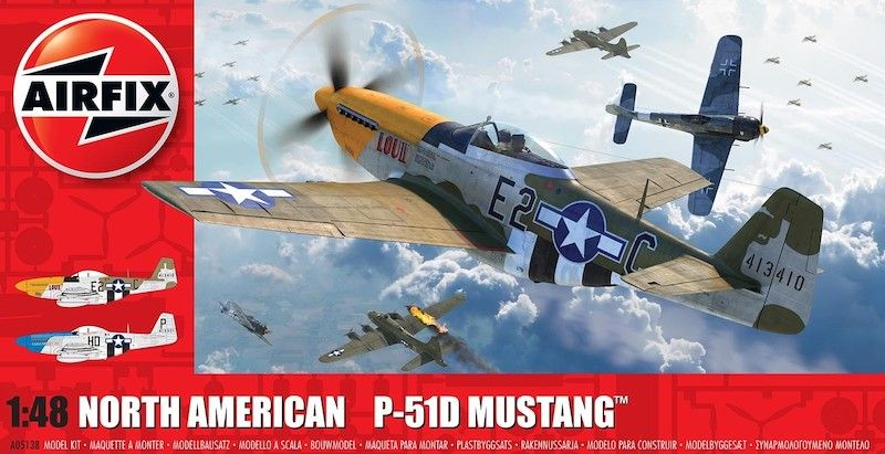 Airfix 1/48 North-American P-51D Mustang # A05138