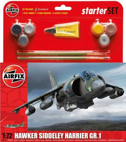 Airfix 1/72 BAe Harrier GR.1 Starter Set # A55205