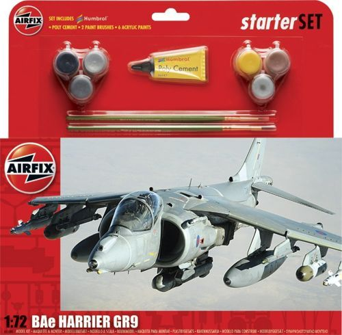 Airfix 1/72 BAe Harrier GR.9 Starter Set # A55300