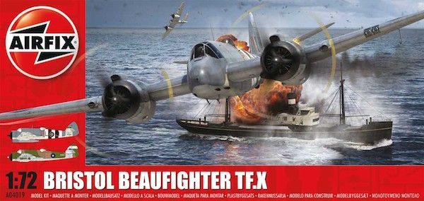 Airfix 1/72 Bristol Beaufighter Mk.X # A04019