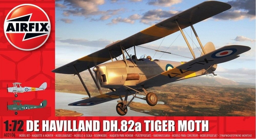 Airfix 1/72 de Havilland DH.82a Tiger Moth # A02106