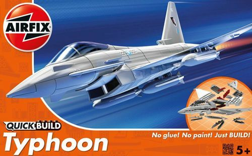 Airfix Quick Build Eurofighter Typhoon # J6002