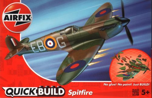 Airfix Quick Build Spitfire # J6000