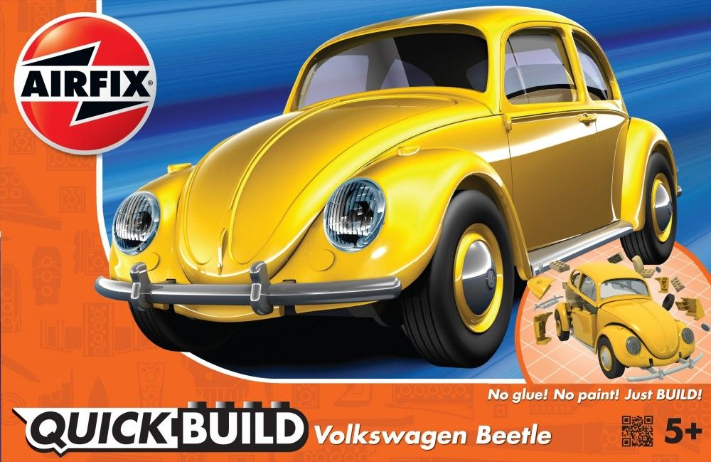 Airfix Quick Build Volkswagen Beetle # J6023
