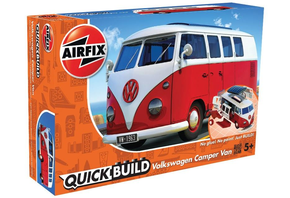 Airfix Quick Build VW Camper Van # J6017