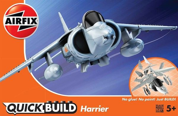 Airfix Quickbuild BAe Harrier # J6009