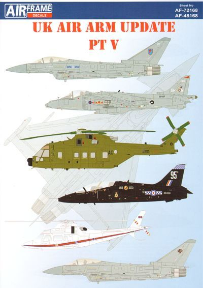 Airframe Decals 1/48 UK Air Arm Update Part 5 2010 # 48168