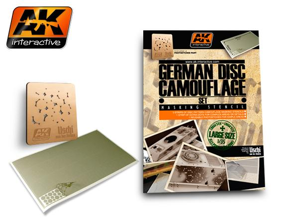 AK Interactive 1/35 German Disc Camouflage Set # AK157