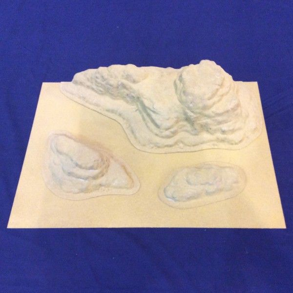 Amera Plastic Mouldings - Planetscape-Escarpment Set # U108