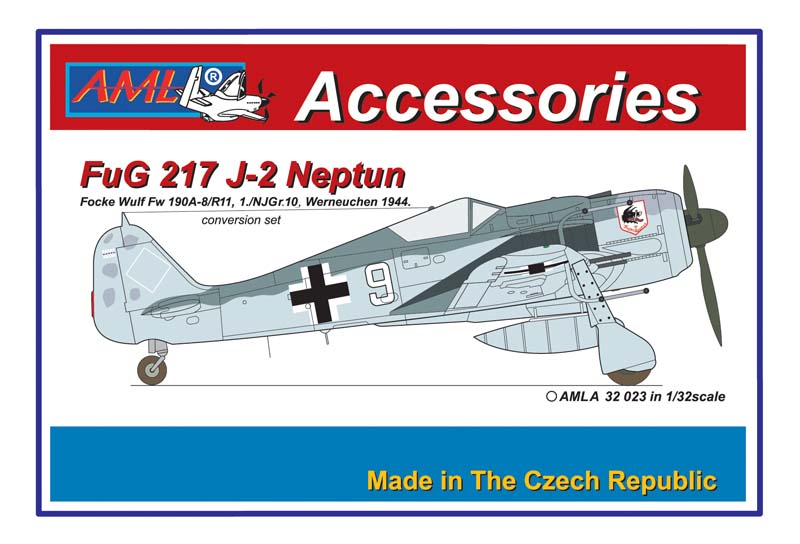 AML 1/32 Fw-190A-8/R11 with FuG 217 J-2 Neptun Conversion Set # A3223