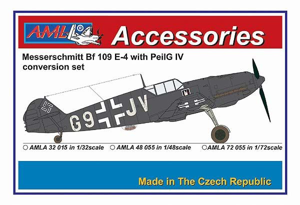 AML 1/32 Messerschmitt Bf-109E-4 with PeilG IV Conversion Set # A3215