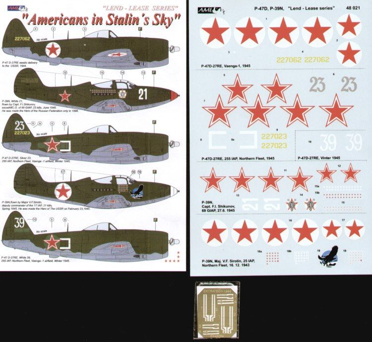 AML 1/48 Americans in Stalin's Sky Part II # D48021