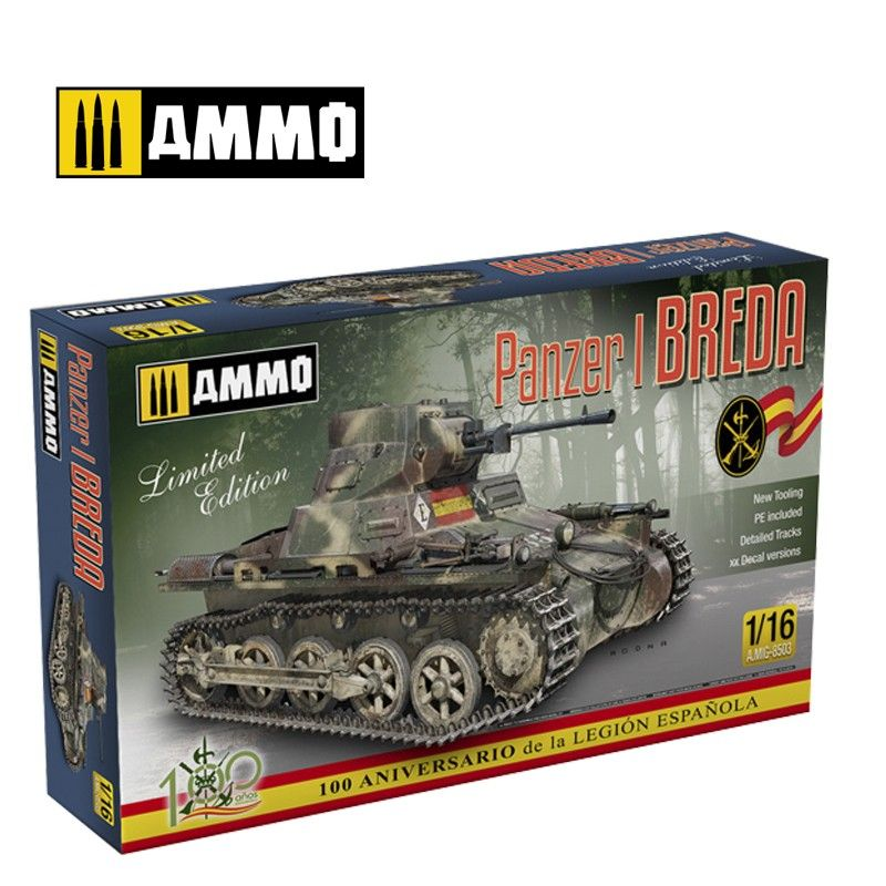 Ammo by Mig 1/16 Panzer I Ausf. A BREDA Limited Edition # MIG-8503