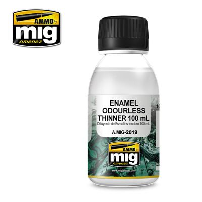 Ammo by Mig 100ml Enamel Odourless Thinners # MIG-2019
