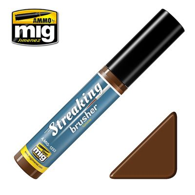 Ammo by Mig 10ml Grime Streaking Brusher # MIG-1253