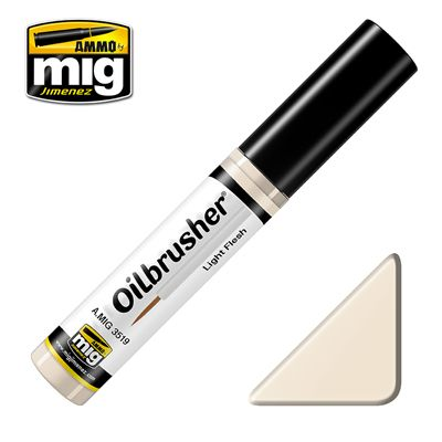Ammo by Mig 10ml Light Flesh Oilbrusher # MIG-3519