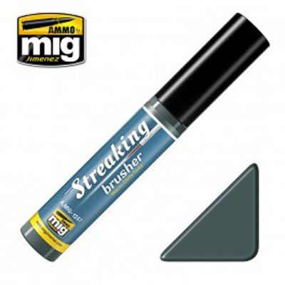 Ammo by Mig 10ml Warm Dirty Grey Grime Streaking Brusher # MIG-1257