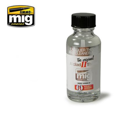 Ammo by Mig 30ml Alclad II Lacquer Thinner & Cleaner ALC307 # MIG-8200