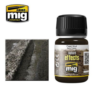 Ammo by Mig 35ml Fresh Mud Nature Effects # MIG-1402