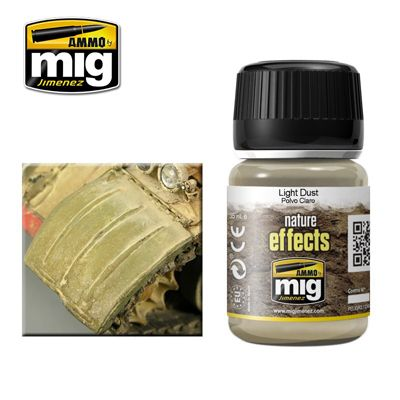 Ammo by Mig 35ml Light Dust Nature Effects # MIG-1401