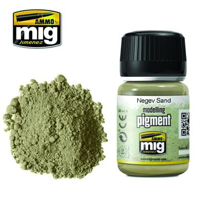 Ammo by Mig 35ml Negev Sand Pigment # MIG-3024