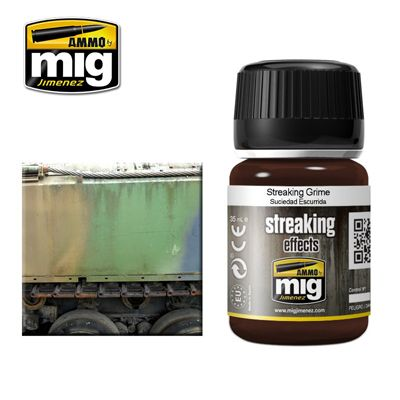 Ammo by Mig 35ml Streaking Grime # MIG-1203