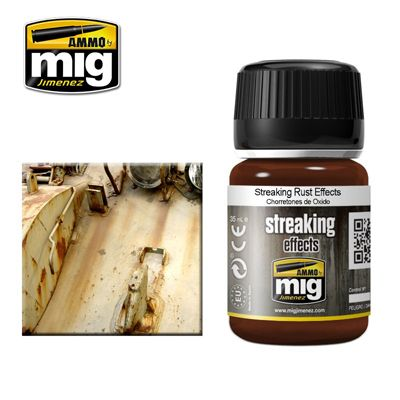 Ammo by Mig 35ml Streaking Rust Effects # MIG-1204