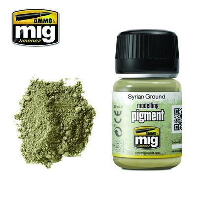 Ammo by Mig 35ml Syrian Ground Pigment # MIG-3025