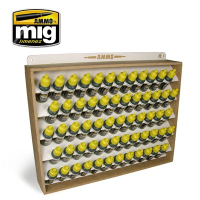 Ammo by Mig - Ammo Storage System for 17ml bottles - stores 60 bottles # 8005