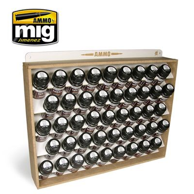 Ammo by Mig - Ammo Storage System for 35ml bottles - stores 45 bottles # 8006