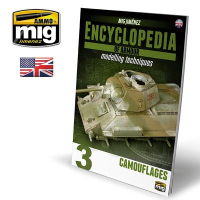 Ammo by Mig - Encyclopedia Of Armour - Modelling Techniques Vol.3: Camouflages # MIG-6152