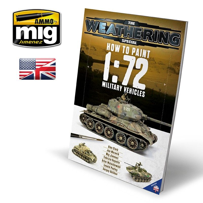 Ammo By Mig - How To Paint 1/72 Military Vehicles Guide Book # MIG-6019