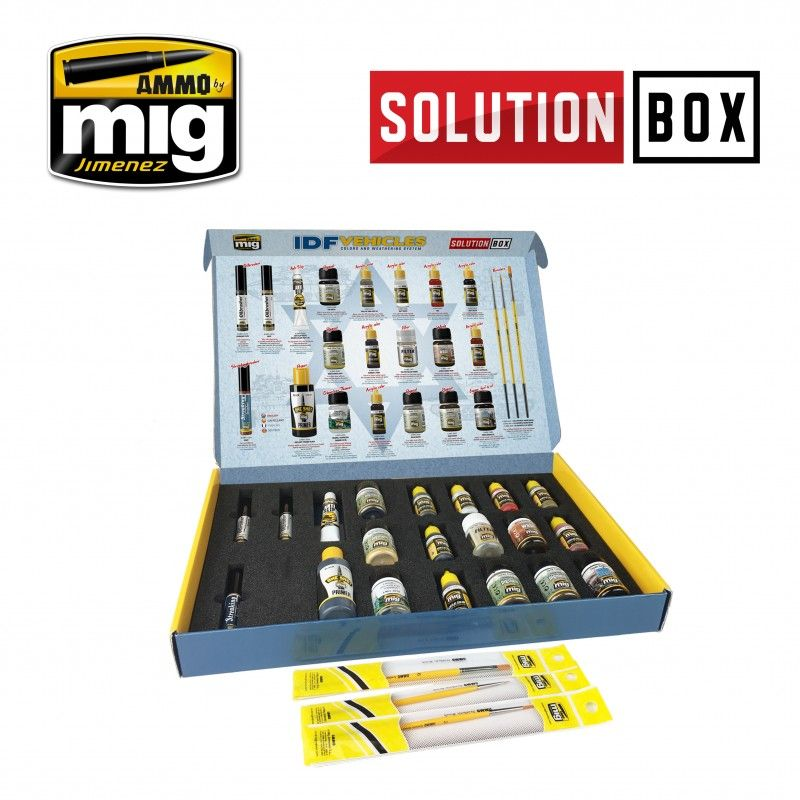 Ammo by Mig - IDF Vehicles Solution Box # MIG-7701