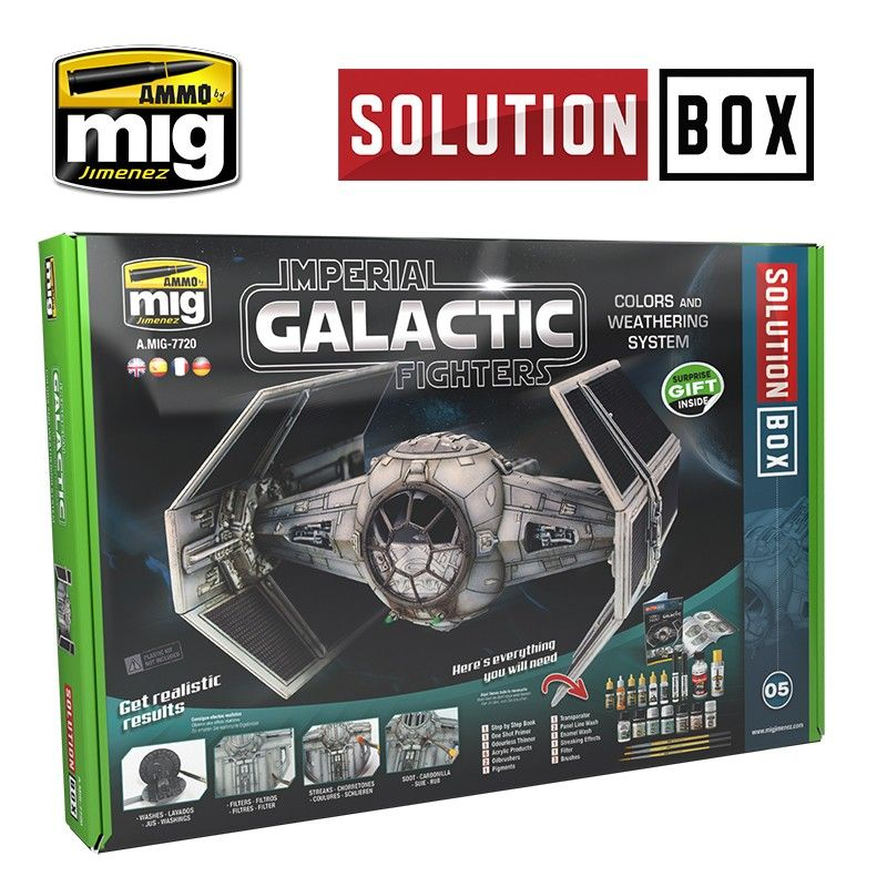 Ammo by Mig - Imperial Galactic Fighters Solution Box # MIG-7720
