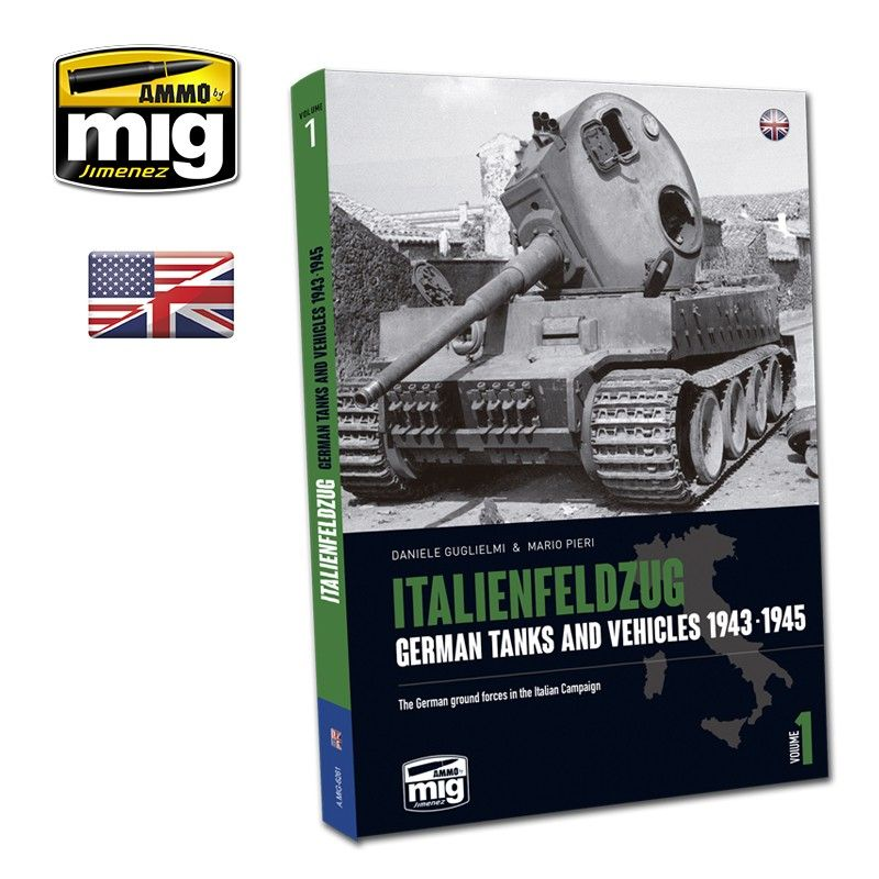 Ammo by Mig - Italienfeldzug German Tanks & Vehicles 1943-1945 # MIG-6261