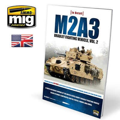 Ammo by Mig - M2A3 Bradley Fighting Vehicle in Europe in Detail Vol.2 # MIG-5952