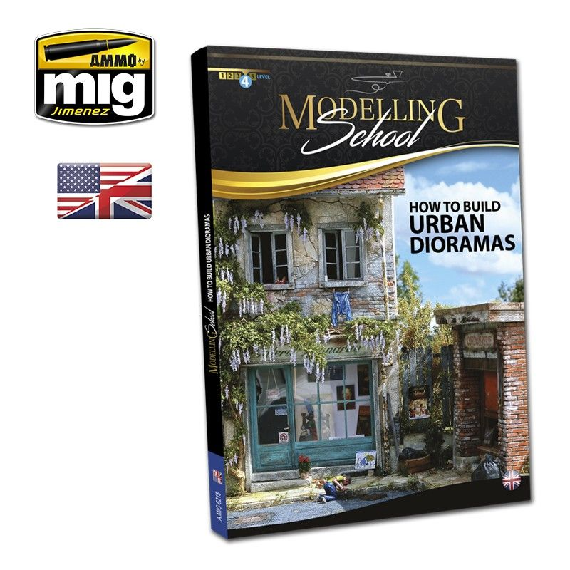 Ammo by Mig - Modelling School: How to Build Urban Dioramas # MIG-6215