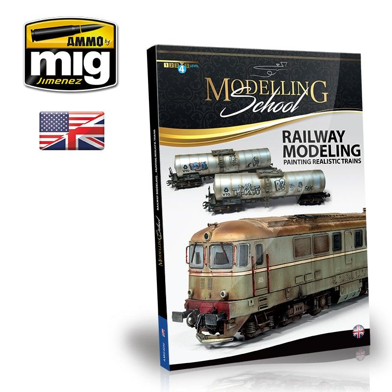 Ammo by Mig - Modelling School - Railway Modeling: Painting Realistic Trains # MIG-6250