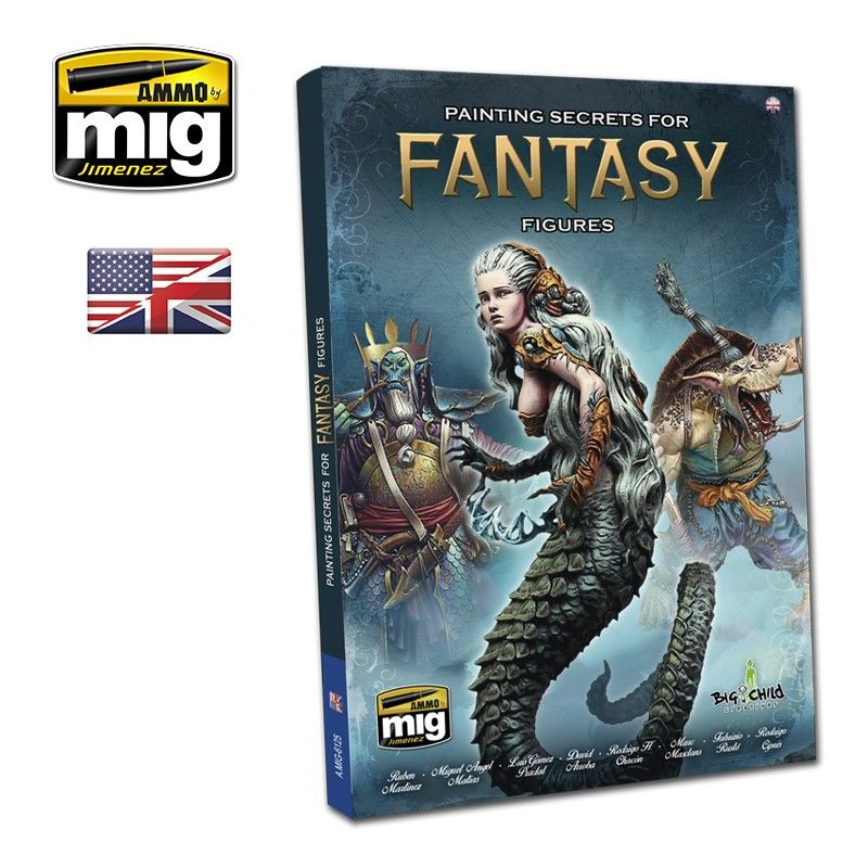 Ammo by Mig - Painting Secrets for Fantasy Figures # MIG-6125