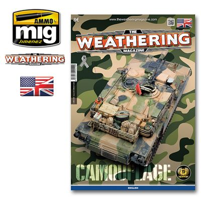 Ammo by Mig - The Weathering Magazine Issue 20 Camouflage # MIG-4519