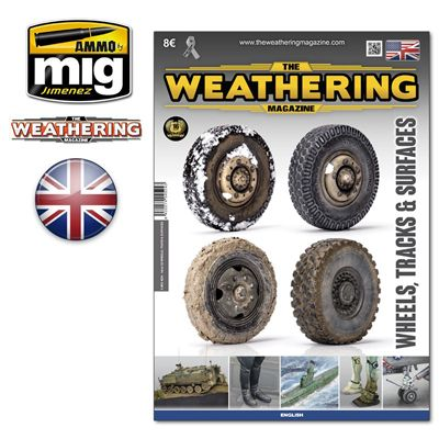 Ammo by Mig - The Weathering Magazine Issue 25 Wheels, Tracks & Surfaces # MIG-4524