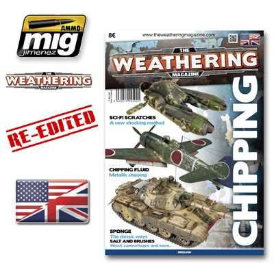 Ammo by Mig - The Weathering Magazine Issue 3 Chipping # MIG-4502