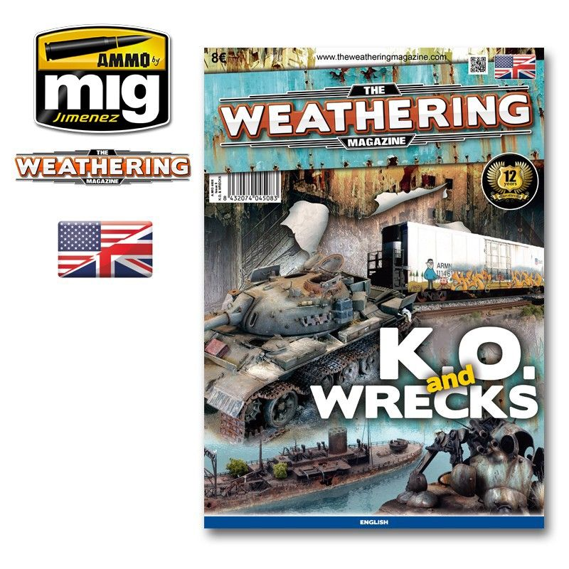 Ammo by Mig - The Weathering Magazine Issue 9 K.O. and Wrecks # MIG-4508