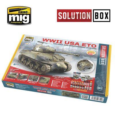 Ammo by Mig - WWII American ETO Solution Box # MIG-7700