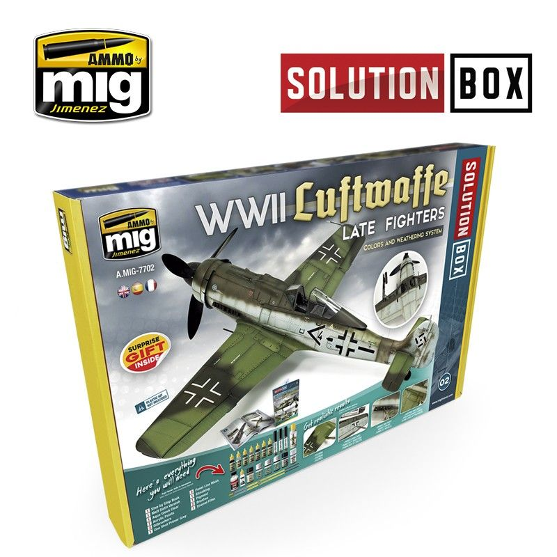 Ammo by Mig - WWII Luftwaffe Late Fighters Solution Box # MIG-7702