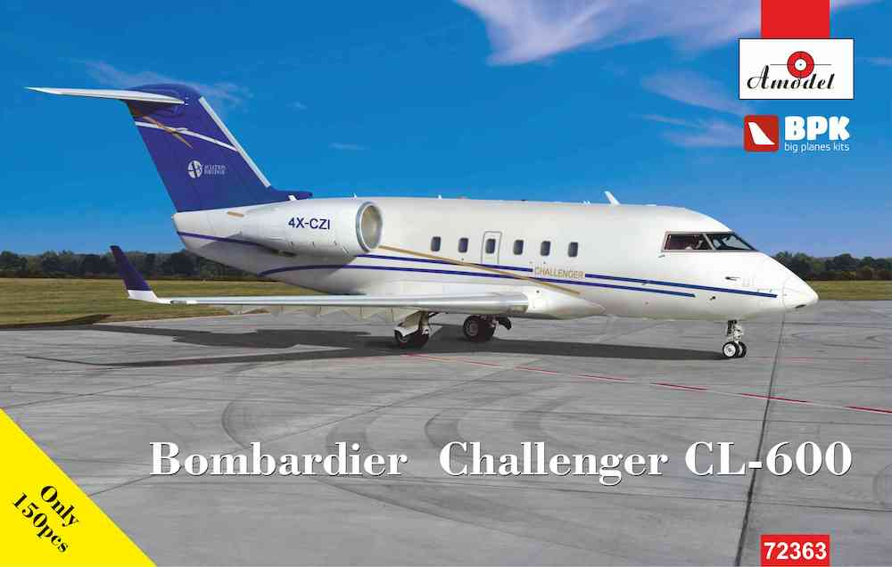 Amodel 1/72 Bombardier Challenger CL-600 # 72363