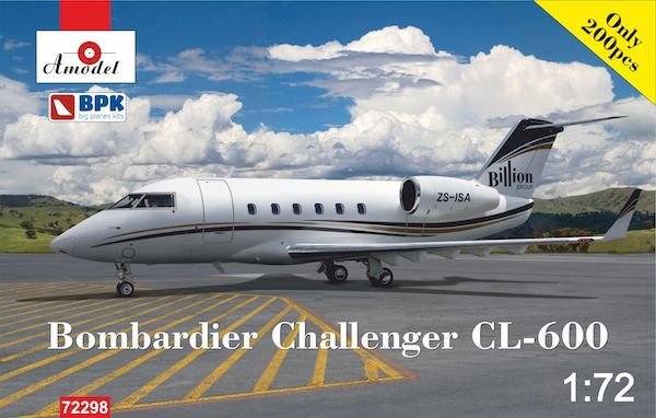 Amodel 1/72 Bombardier Challenger CL-600 'Billion Group' # 72298