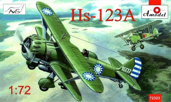 Amodel 1/72 Henschel Hs 123A Chinese Dive Bomber # 72323